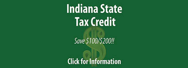 Indiana State Tax Credit Info